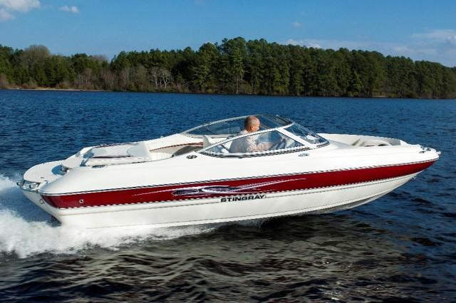 stingray 198 boat test