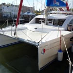 New Catamarans Cruise into Annapolis
