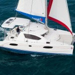 Sunsail 384 Cat Launched into Charter Service