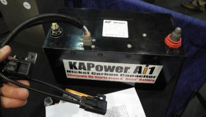 "The KAPower supercapacitor helps keep voltages level, and can even get a start out of a ""dead"" battery."