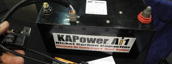 Super Capacitor for Emergency Start?
