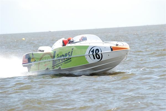 Livorsi Marine established the first-ever speed record for the P1 Panther class in SuperStock USA.