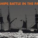 Tall Ships Battle at Sea