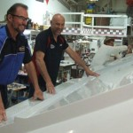 Sunsation Completing Tooling for 34-Foot Center Console