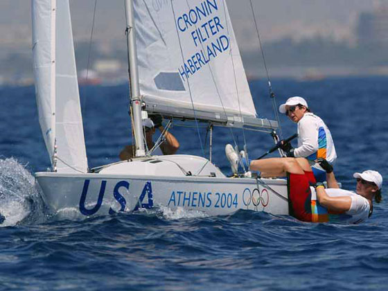 Olympic Day is a very special way to remember sailing in Athens in 2004.
