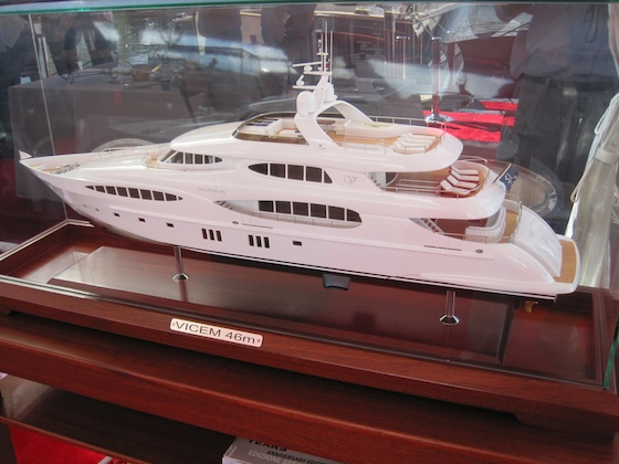A Vicem superyacht is in the works