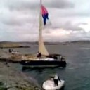 Video: Fiberglass Sailboats Meet Immovable Objects
