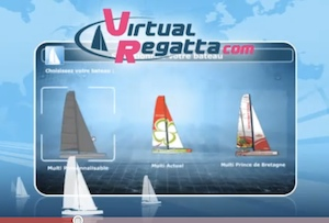 Choose your race boat at Virtual Regatta for the Route du Rhum race.