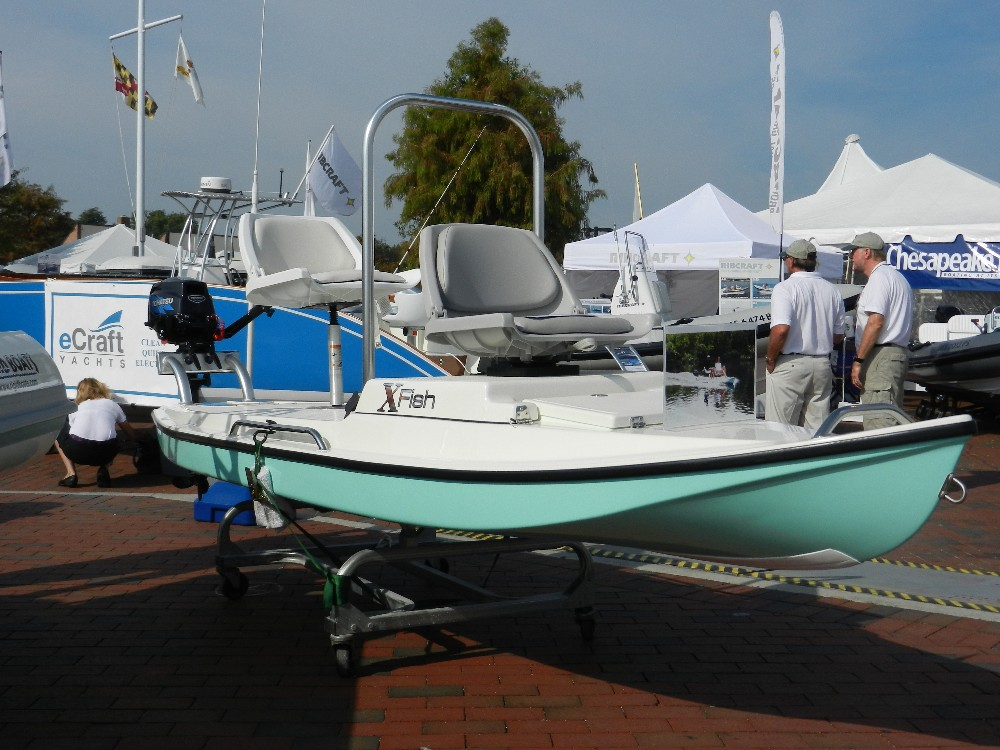Micro+Skiff+Boats ... fishy, we spotted the XFish microskiff at the ...